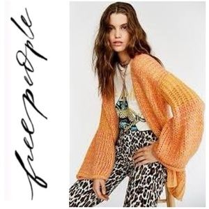 NWT Free People Home Town Cardigan